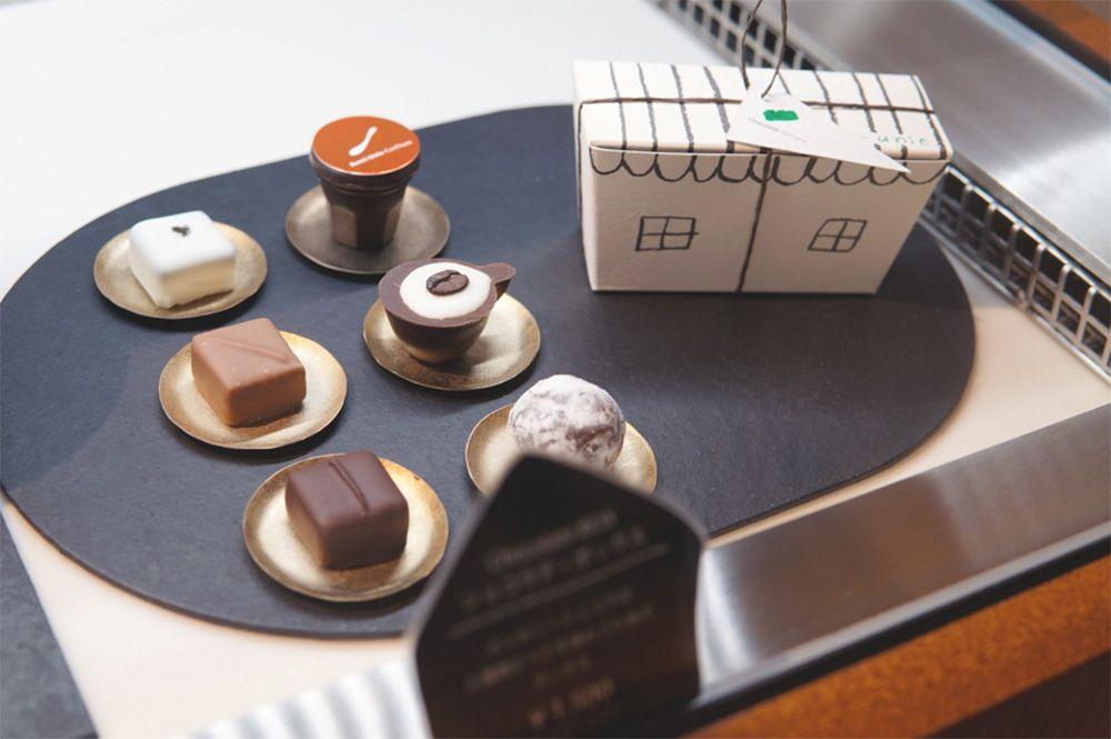 【1】鎌倉「ショコラテ ロミ・ユニ」のボンボンショコラ