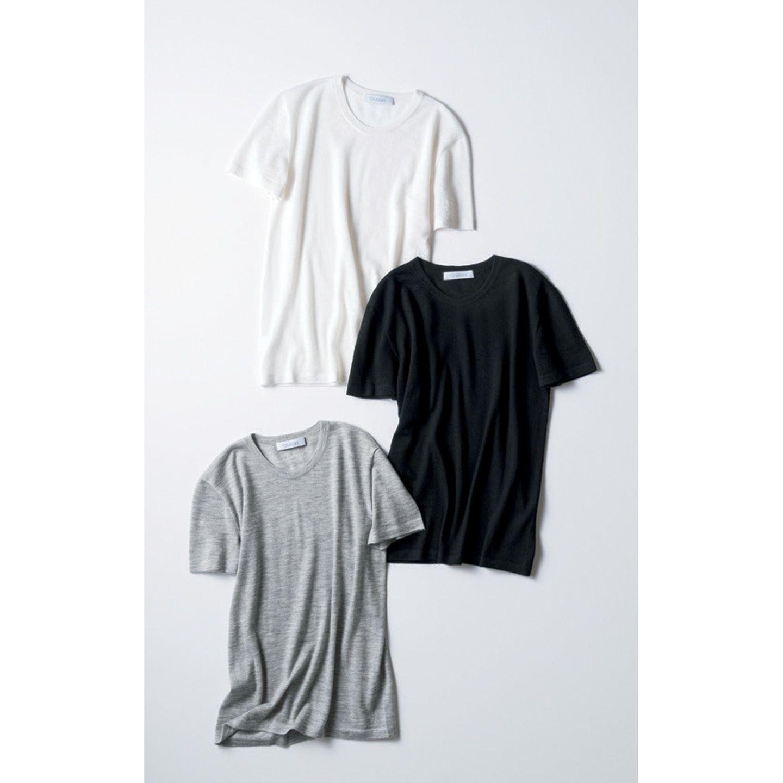 【1】カシミヤTシャツ