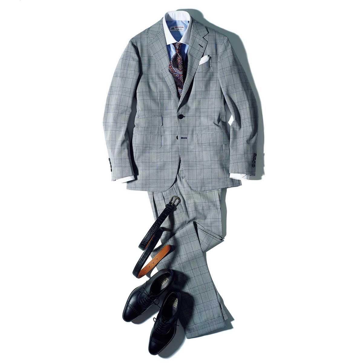 【1】英国調「誠実スーツ」