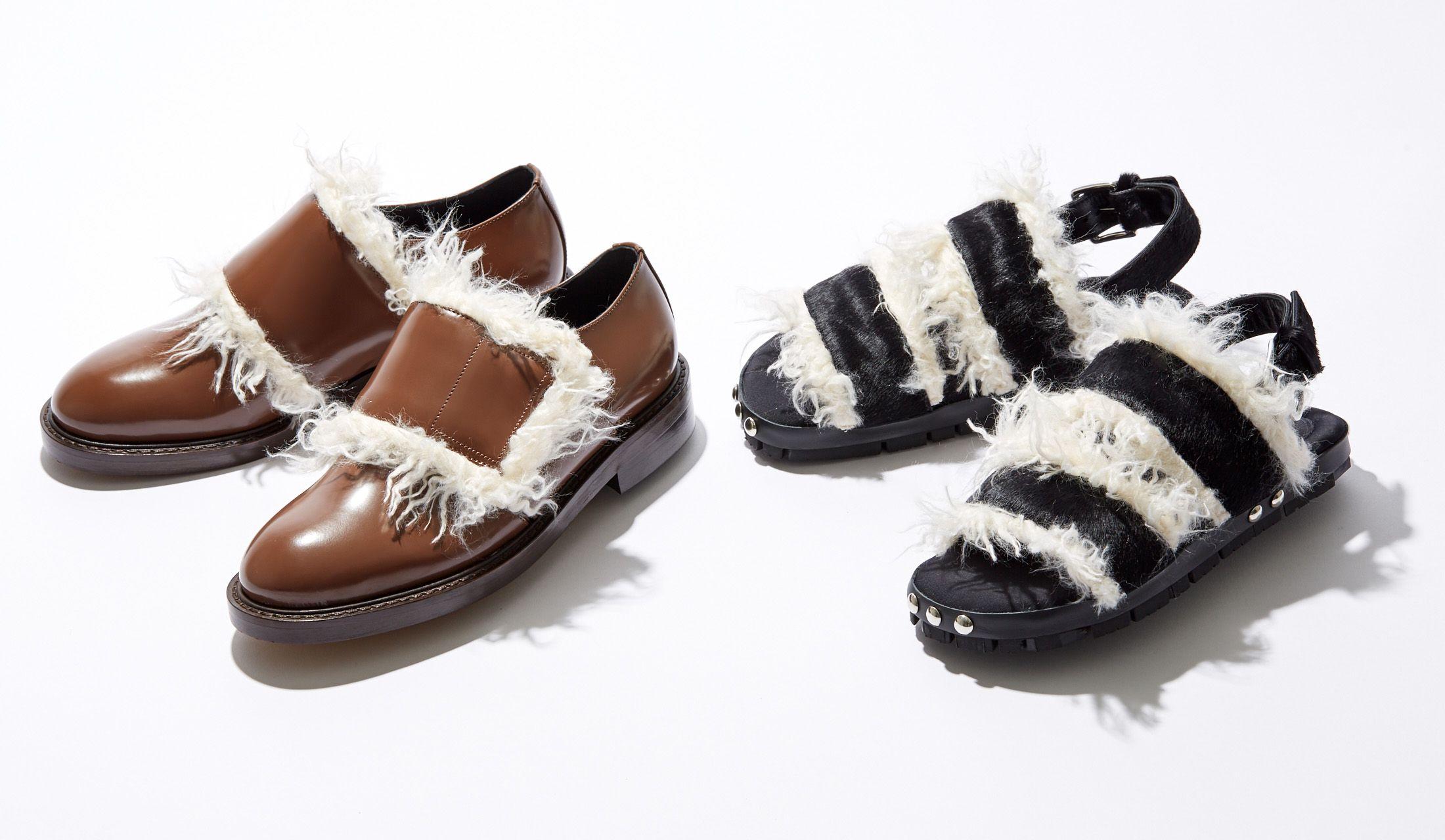 マルニのエコファー靴