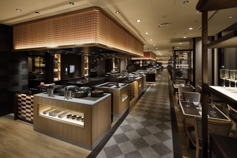 品川 「Buffet&Caf? SLOPE SIDE DINER ZAKURO / グランドプリンスホテル新高輪」
