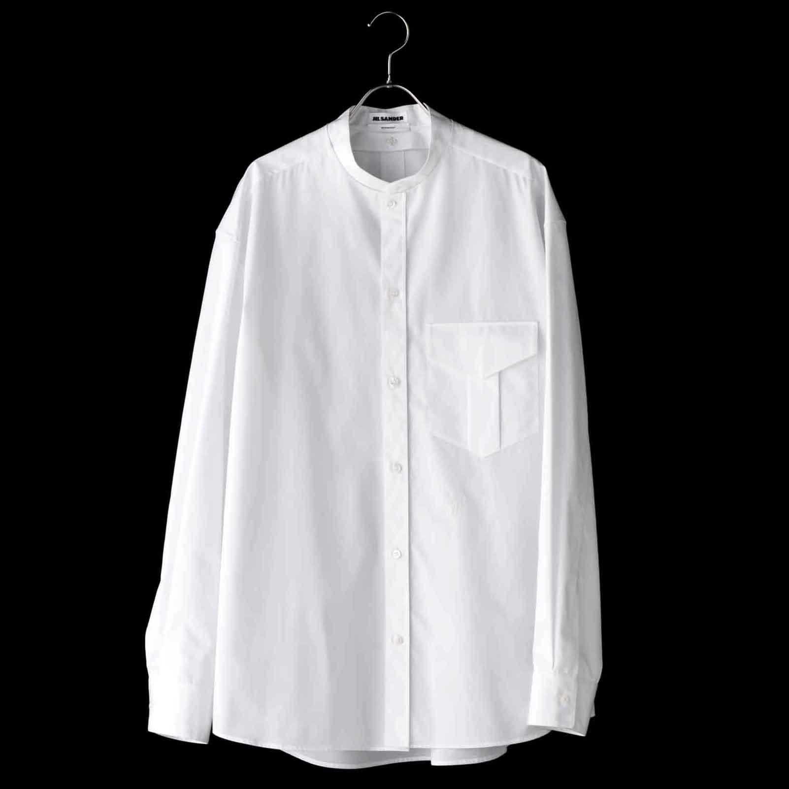【1】ジルサンダーの究極の白シャツ
