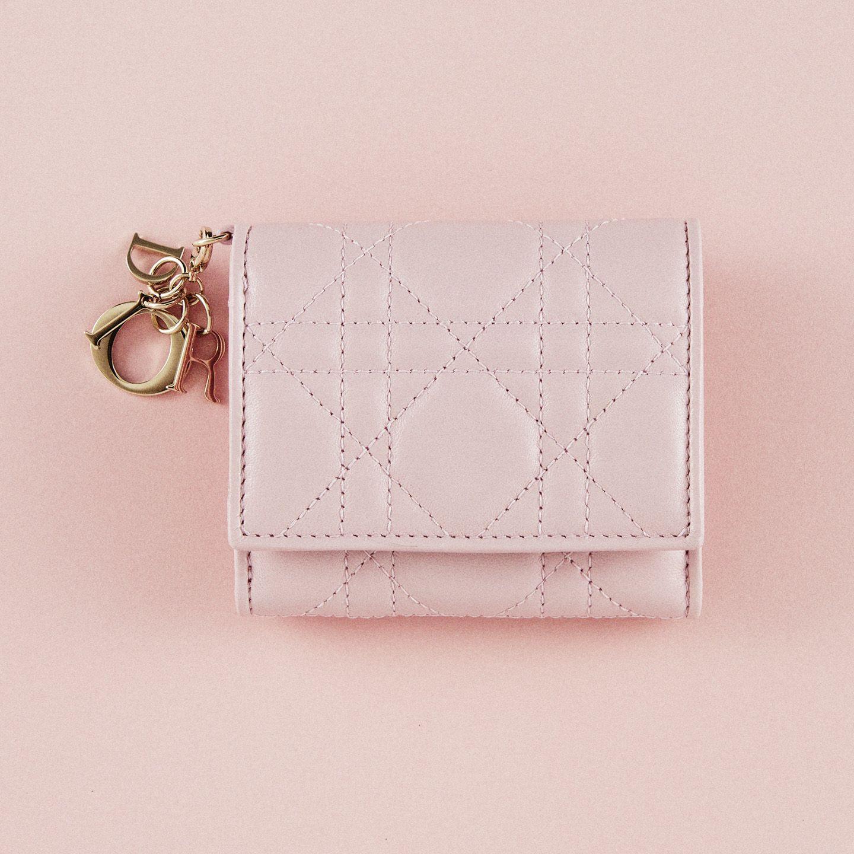 【3】ディオールの三つ折り財布